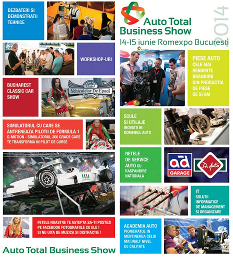 Auto Total Business Show, Romexpo Bucuresti