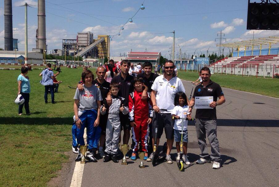 Prejmer Circuit : Amkart Racing Team si Willi M Sport la start