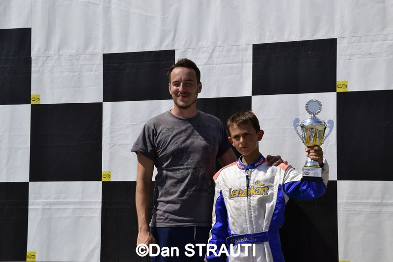 Karting: Cristi Feier si Radu Grozea Jr. la primul podium