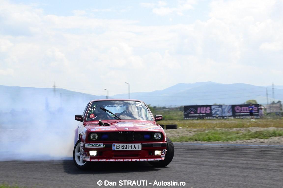 GTT Drift Series: 33 de piloti isi disputa podiumul la Prejmer Circuit