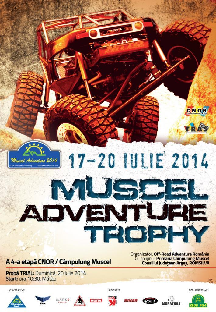 Muscel Adventure Trophy, a IV-a etapa a sezonului 2014 din C.N. de Off Road