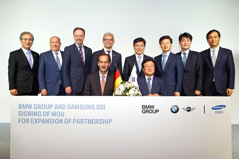 BMW Group şi Samsung SDI extind parteneriatul