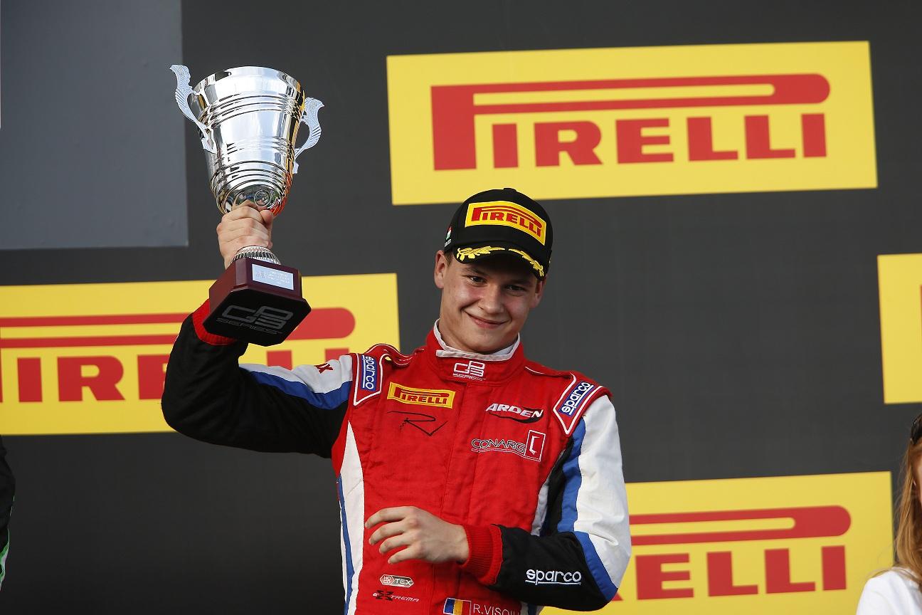 Robert Visoiu, un podium cat o victorie