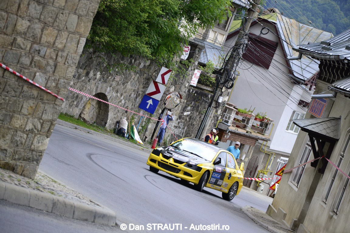 Echipa Rally Dream Team a castigat bronzul la Sinaia