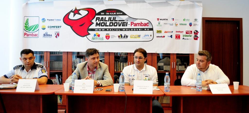 Conferinta de presa Raliul Moldovei Pambac Bacau 2014