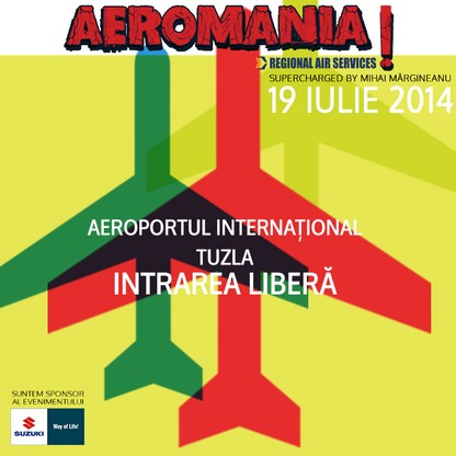 Suzuki, sponsor Aeromania 2014