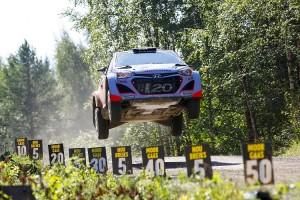 Raliul Finlandei 2014 - J. Hänninen / T. Tuominen - Hyundai i20 WRC