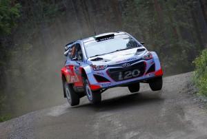 H. Paddon / J. Kennard  - Hyundai i20 WRC, Raliul Finlandei 2014