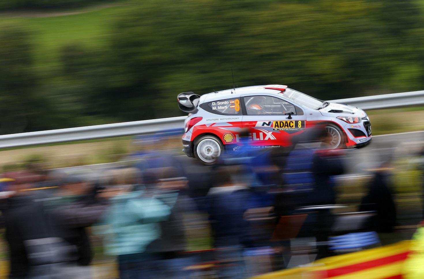 Raliul Germaniei, inceput bun pentru echipa Hyundai Shell World Rally pe teren propriu