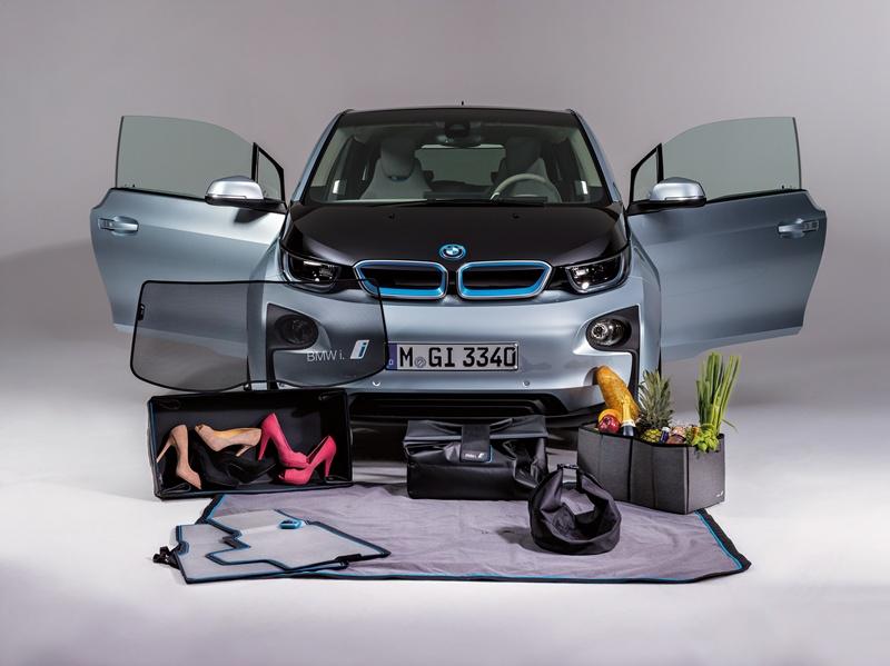 BMW i3 , accesorii inovative şi sustenabile