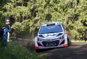 Thierry Neuville  - Nicolas Gilsoul, WRC 2014 - Rally Finland
