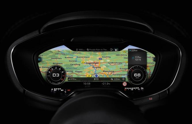 Noul Audi TT este vehiculul cu cea mai bună conectivitate în Germania