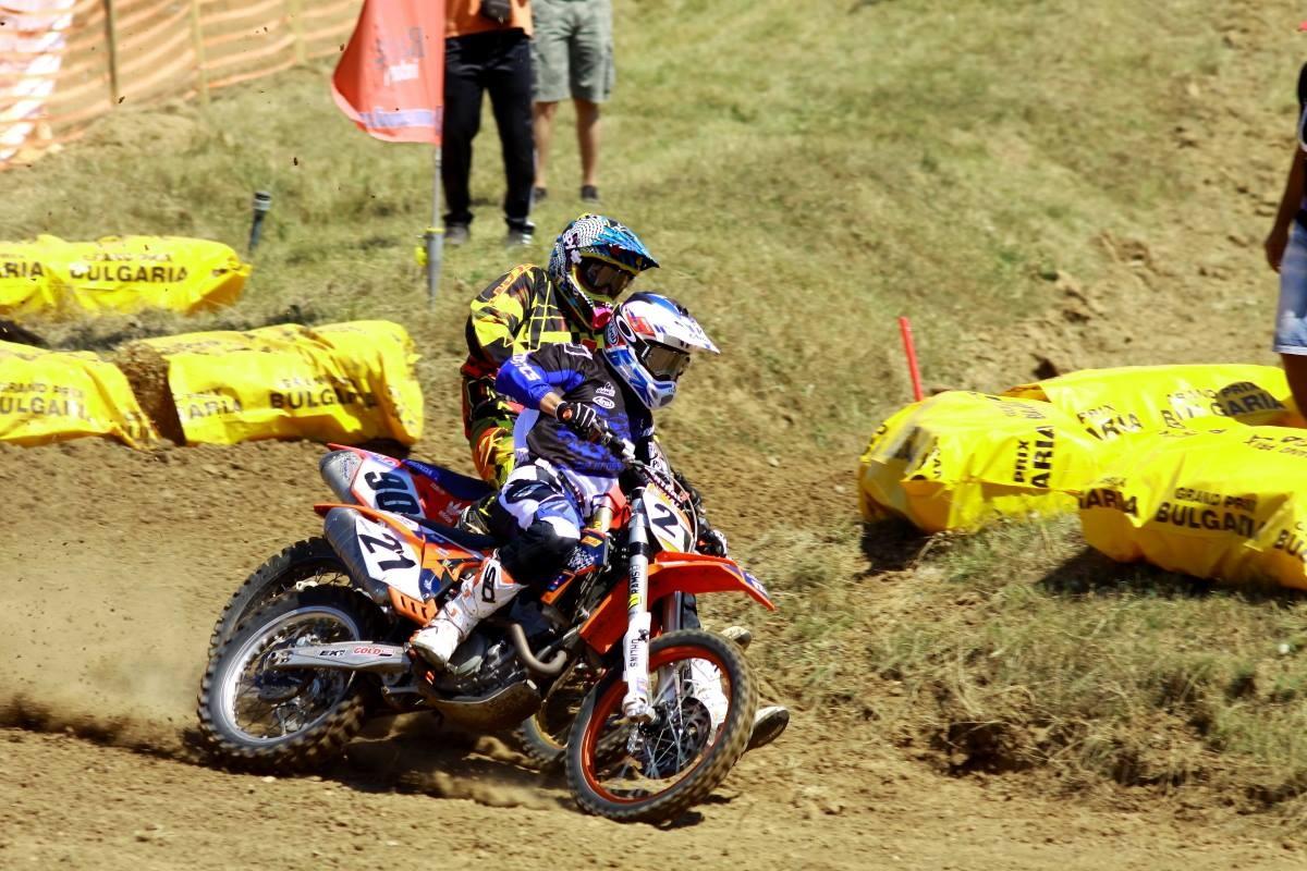 Campionatul Est European de Motocross: Adrian Raduta isi intareste pozitia de lider