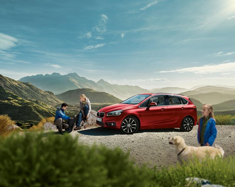 Campanie de lansare BMW Seria 2 Active Tourer