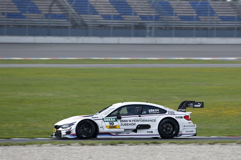 Teste DTM: Heikki Kovalainen în acţiune cu BMW M4 DTM