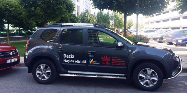 Dacia, masina oficiala RadiRo 2014