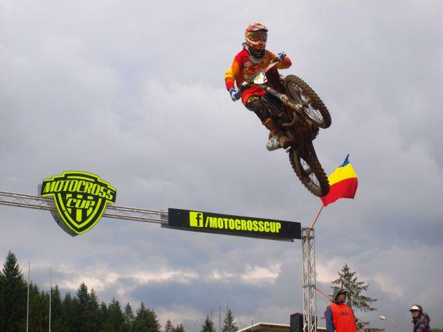 Motocross CUP: duel intre motocrosisti de top la Zarnesti