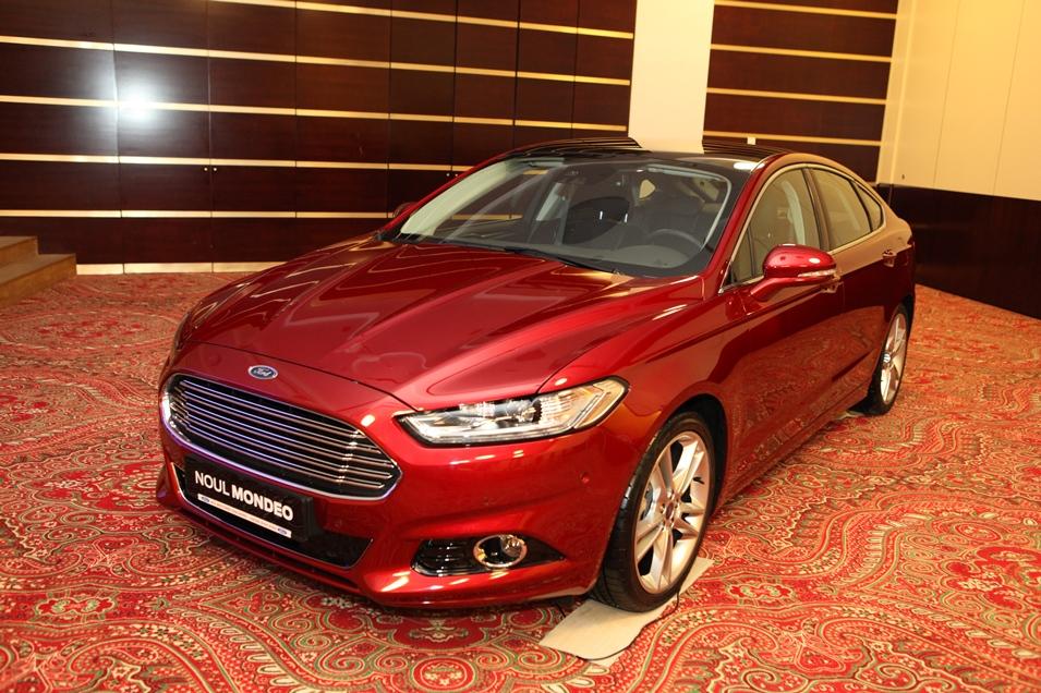 Noul Ford Mondeo prezentat la Raliul Iasului 2014