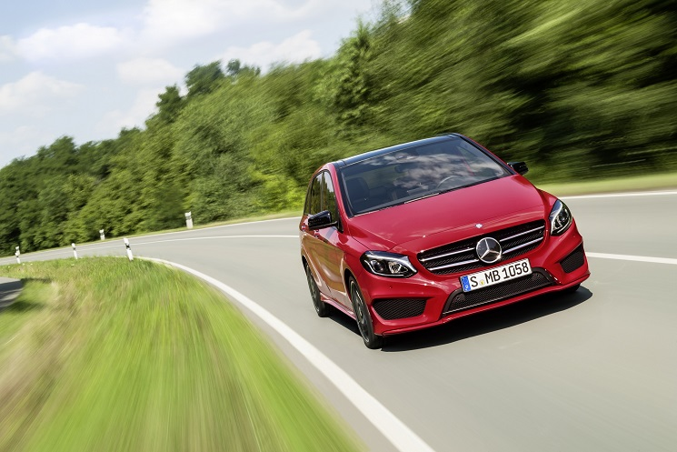 Noua Clasă B: Facelift major pentru modelul sports tourer din gama Mercedes-Benz
