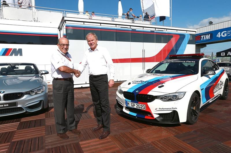BMW M Official Car of MotoGP™ confirmat până în 2020