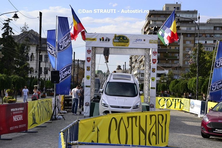 Raliul Iasului Cotnari, pe primul loc in clasamentul etapelor din Romania