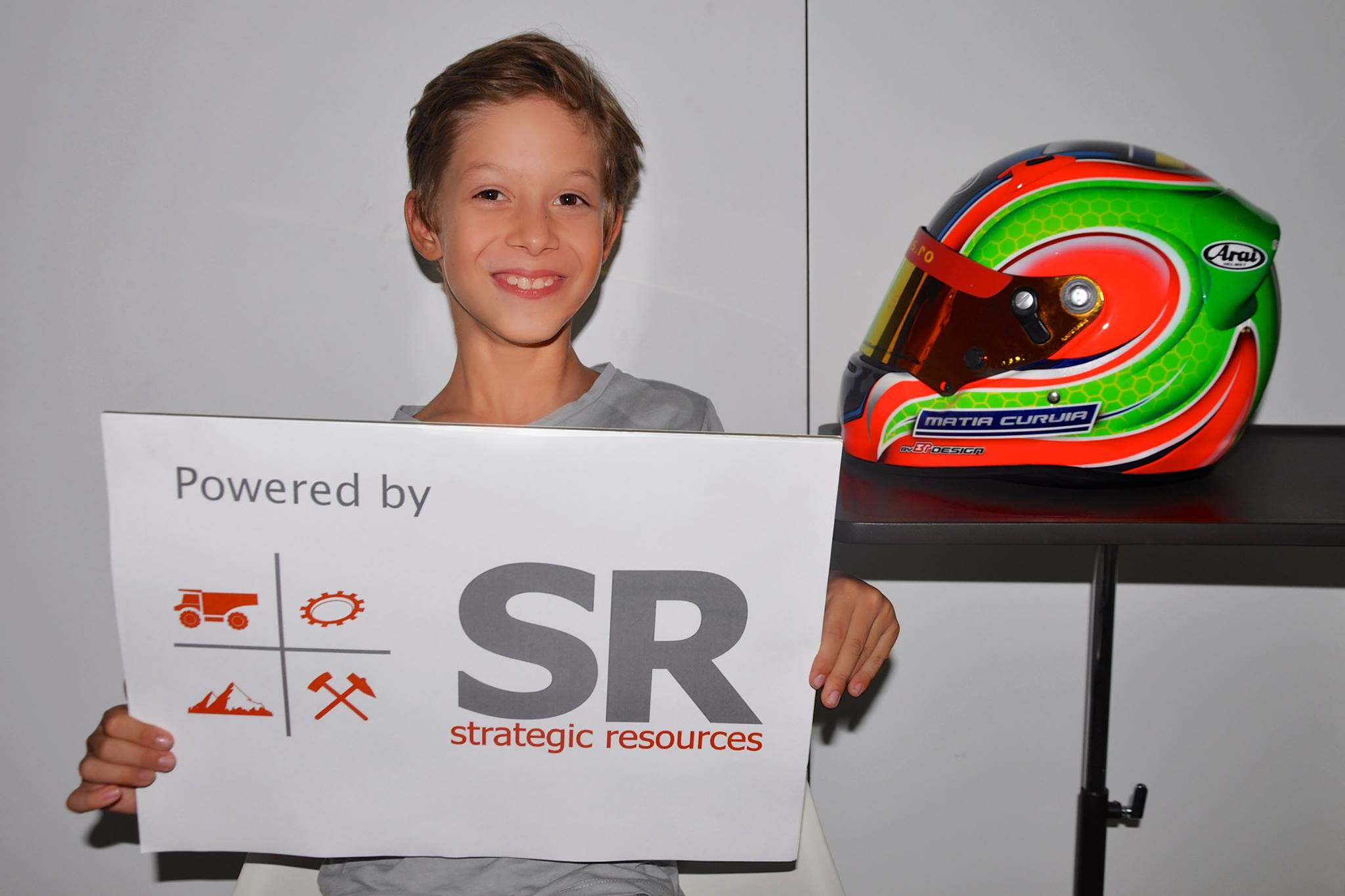 Strategic Resources sustine un talentat pilot de karting de doar 7 ani in drumul sau spre Formula 1