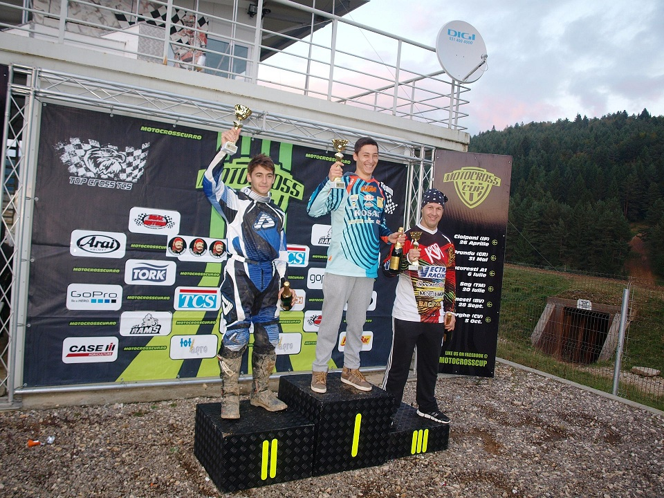 Motocross CUP, etapa patru: fratii Corbea urca pe podium