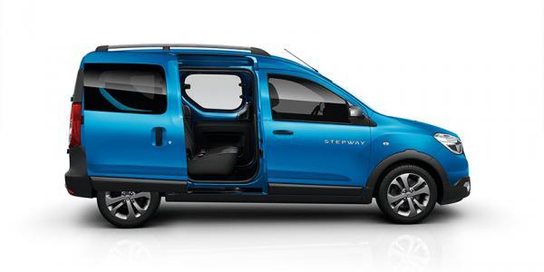 Salonul Auto de la Paris: Dacia prezenta cu modelele Lodgy Stepway și Dokker Stepway
