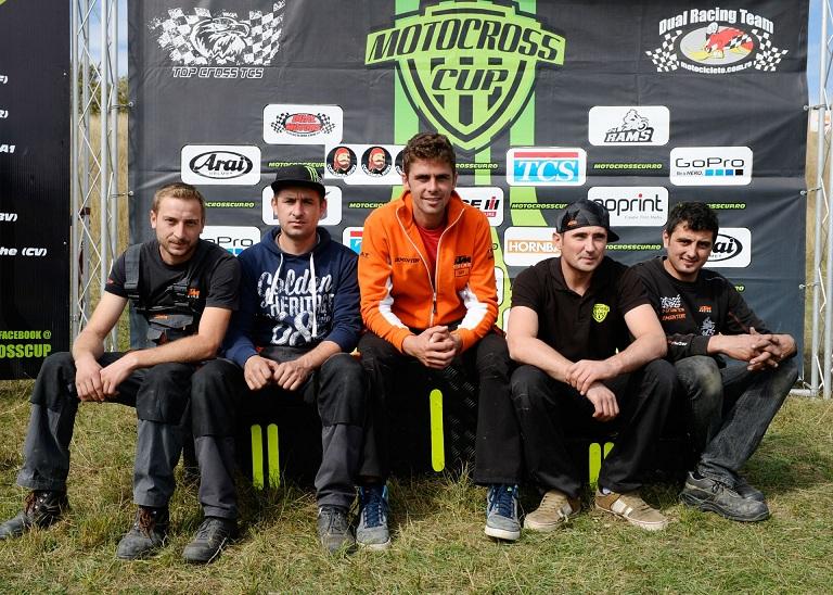 Adrian Raduta si Ionut Corbea, succese remarcabile la motocross