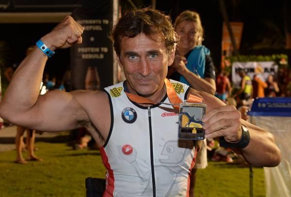 Alessandro Zanardi a încheiat cu succes primul triatlon de mare distanţă