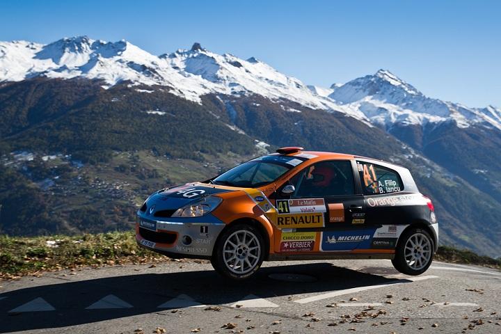 Rallye International du Valais: final în puncte pentru Alex Filip si Bogdan Iancu