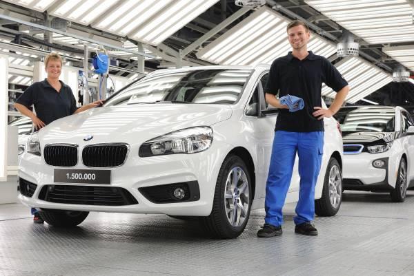 BMW a produs la Leipzig automobilul 1.500.000