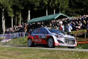 Bryan Bouffier (#20 Hyundai i20 WRC, copilot Xavier Panseri)