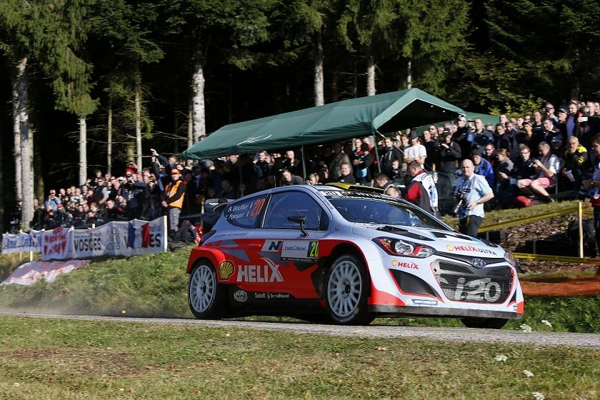 Raliul Frantei, progrese constante pentru echipa Hyundai Shell World Rally