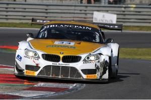 Circuit Zolder, Zolder (BE), 19th October 2014. BMW Motorsport. Alessandro Zanardi (IT), BMW works driver, BMW Z4 GT3, ROAL Motorsport, 2014 Blancpain Sprint Series, Round 06, Main Race
