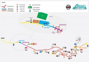 Harta Trofeul Rasnov 2014