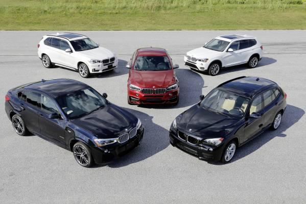 15 ani de modele BMW X