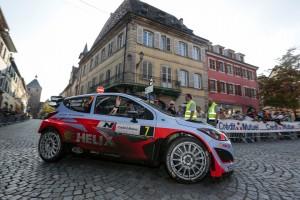 Thierry Neuville (#7 Hyundai i20 WRC, copilot Nicolas Gilsoul)