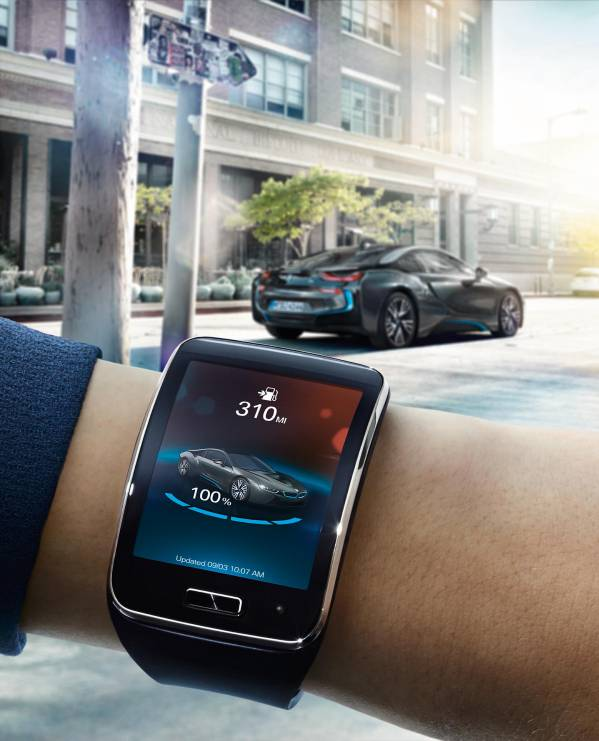 BMW i Remote App premiat la CES Innovation Awards 2015