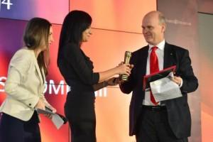Dacia premiata la Gala Ziarul Financiar 2014