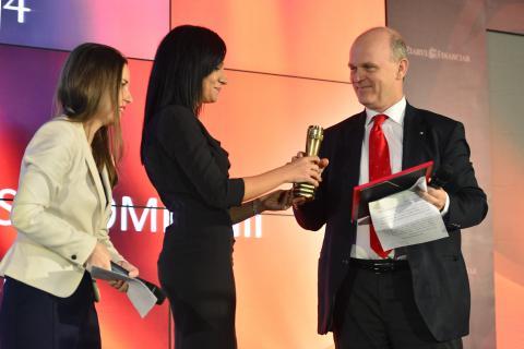 Dacia a fost premiată în cadrul Galei Ziarului Financiar