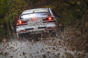 Sebastian Barbu / Sergiu Itu - Mitsubishi Lancer EVO X - Waldviertel Rallye 2014