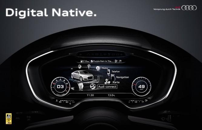 "Audi TT este ""Connected Car 2014"""