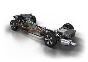 BMW 3 Series Plug-in hybrid prototype: Drive train