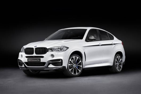 Componente noi BMW M Performance disponibile pentru BMW X6