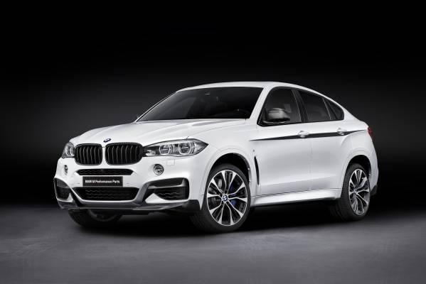 Componente noi BMW M Performance disponibile pentru BMW X6