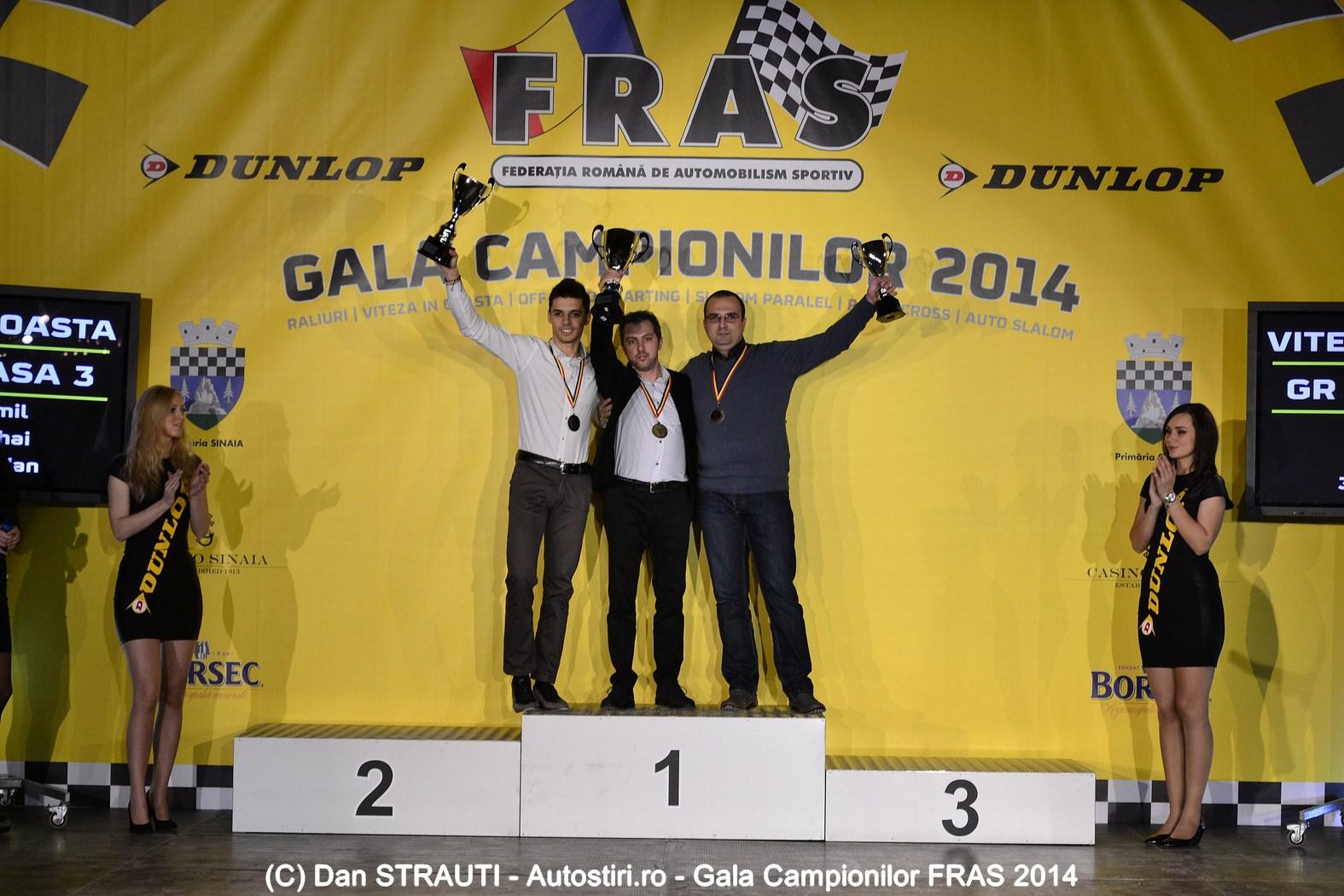 Gala Campionilor FRAS 2014: Emil Ghinea revine pe podium