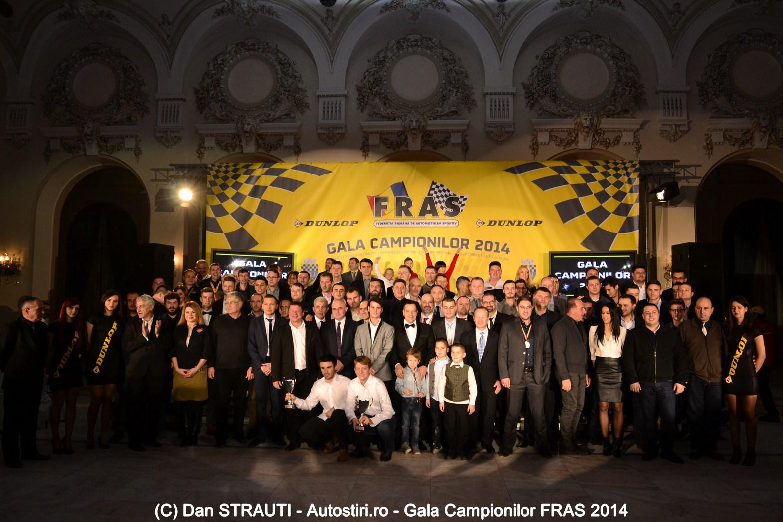 FRAS și-a premiat campionii sezonului 2014