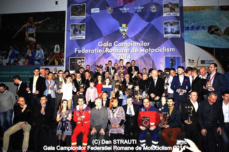 Gala Campionilor Federatiei Romane de Motociclism 2014