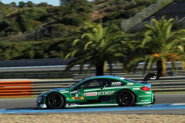 BMW Motorsport,  trei zile de teste DTM
